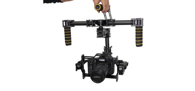 DYS Hawkeye SLR Brushless Aerial Haeundae 5D2 Handheld SLR