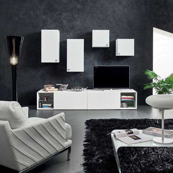 Scegli i nostri mobili porta tv ideali per il soggiorno con ripiani e cassetti per tenere in ordine i tuoi film, i videogiochi e persino le console. Mobili Soggiorno Moderni Nikolai