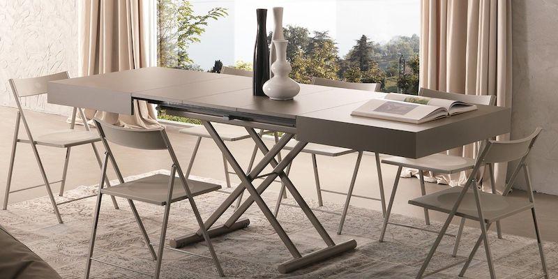 Tavolini Trasformabili Come Creare Una Sala Da Pranzo In