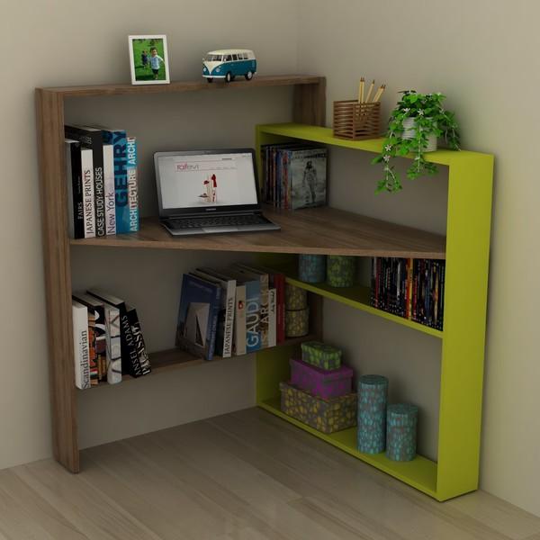 Librerie angolari e mensole design moderno