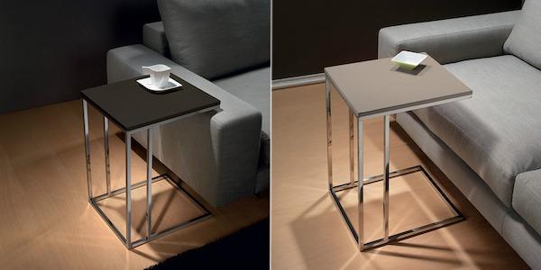 Poco spazio in salotto Prova un tavolino lato divano