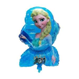 Balon Folie Minifigurina Elsa Frozen suport bat inclus, 35 cm