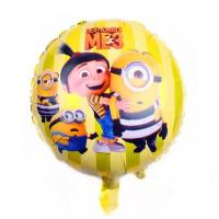 Balon Folie Minions & Little Girl, 45 cm