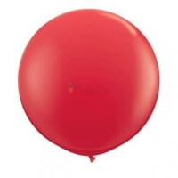Balon latex Jumbo rosu, 100 cm