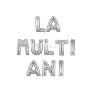 text la multi ani argintiu