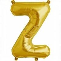 balon-folie-litera-z-auriu