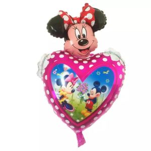 set baloane mickey si minnie