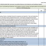 SBP Counterfeit System Checklist
