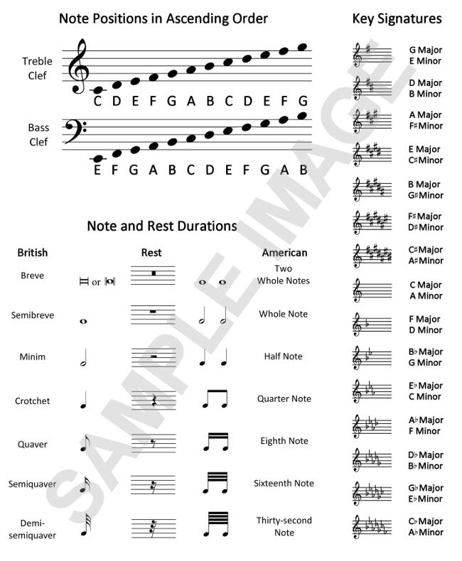 Blank Sheet Music Book