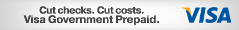 Cut checks. Cut costs. Visa Government Prepaid. The more efficient way to go.
