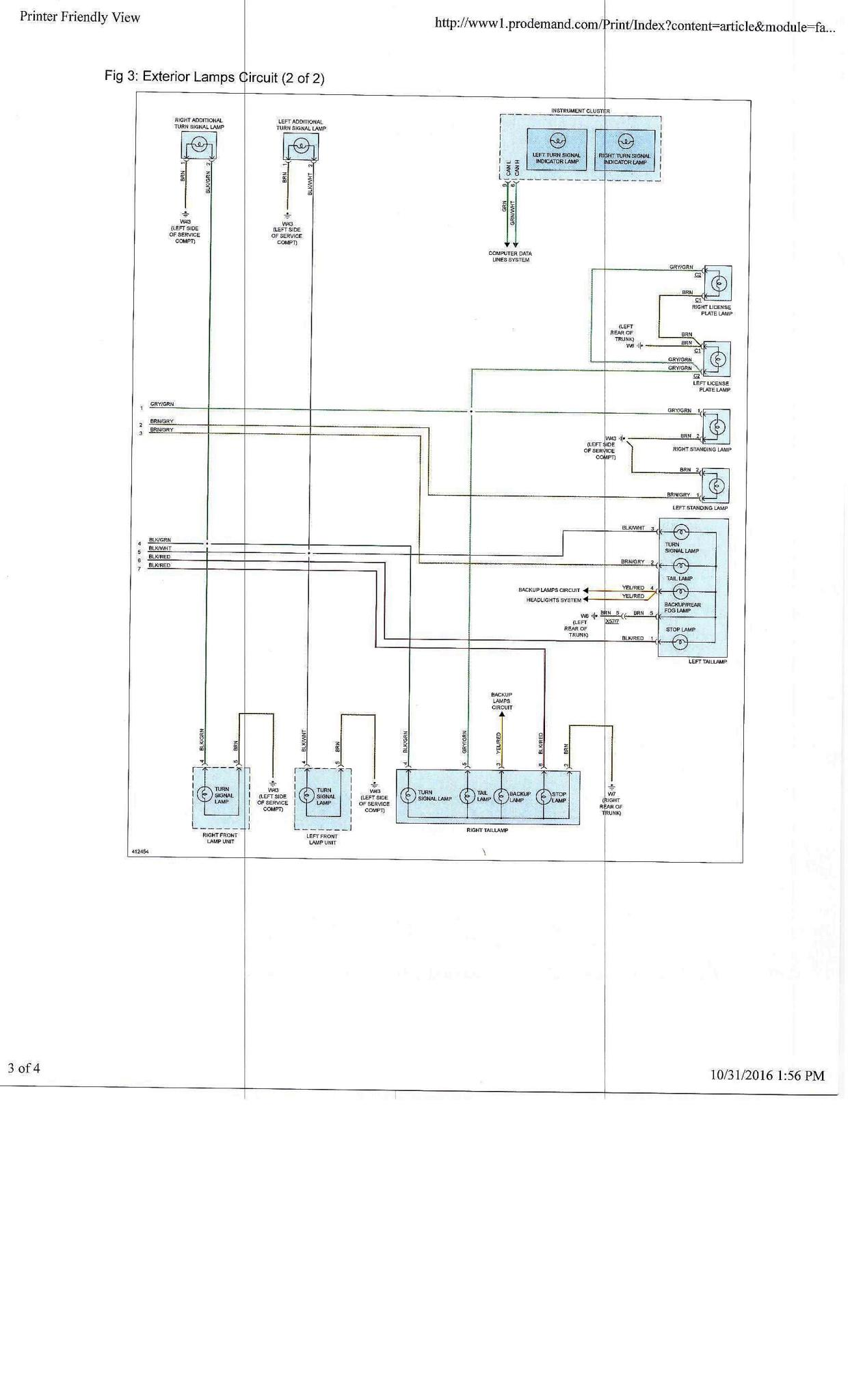 hight resolution of external lights wiring diagram smart car forums