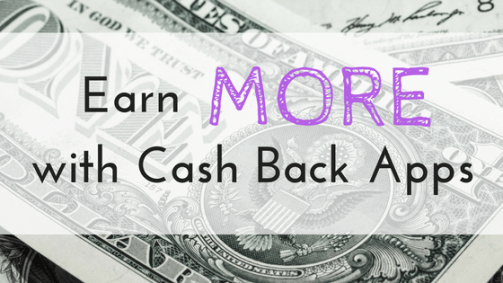 cash back apps for shopping