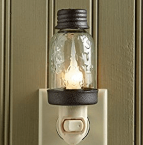 frugal mothers day gift mason jar night light