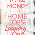 make money from home jobs