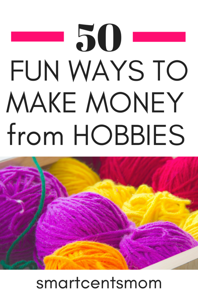 Hobbies that make money: There are over 50 money making fun hobbies on this list! I had no idea you could make money from hobbies like photography, social media, crafts, and shopping at thrift stores. The hardest part is picking one hobby to focus on!