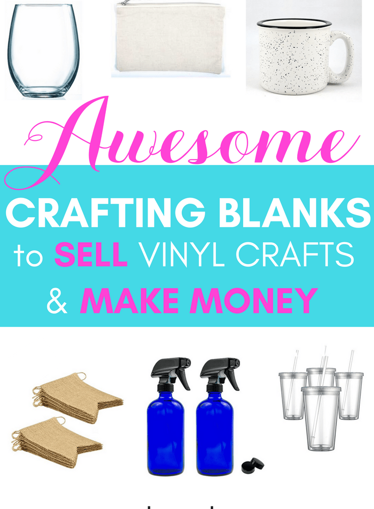 Best Crafting Blanks for Cricut Projects on Amazon [Making Money with Cricut]