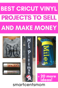 making money with cricut