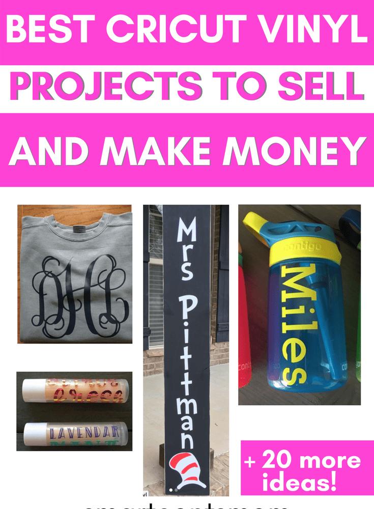 making money with cricut