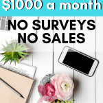 Feeling burned by online surveys? Want to make more money with less wasted time! Learn how to make money online (no surveys!).