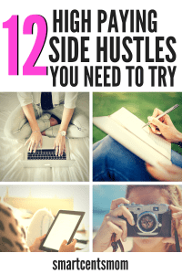 Fun side jobs to make money at home! Earn extra cash with these tips for working the easiest side hustles and highest paying side hustles perfect for moms and any people who want to make money on the side! #sidejobs #sidehustles #extracash #makemoneyonline