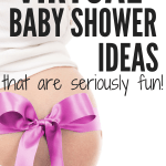 Want to know how to throw a virtual baby shower? These virtual baby shower ideas are perfect for long distance moms-to-be. Tips for fun online baby shower games, online invite graphics, and a guide for how to throw a virtual baby shower with Facebook. #babyshowergames