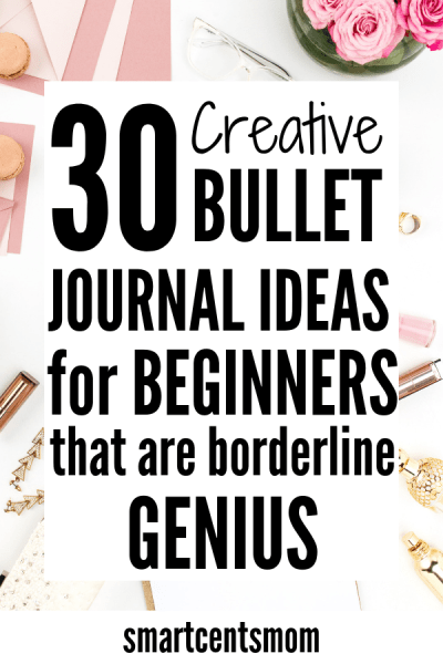 How to start a bullet journal with these bullet journal ideas! Check out these pages, templates, and layout ideas for month & weekly goals, track your habits, fitness goals, budget goals, and more! Your bullet journal can help you create lists for life and help you get organized. #bulletjournal #bujo