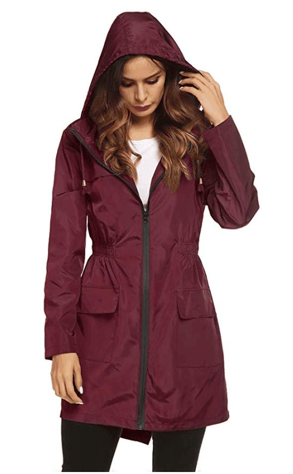 fall fashion must have rain jacket