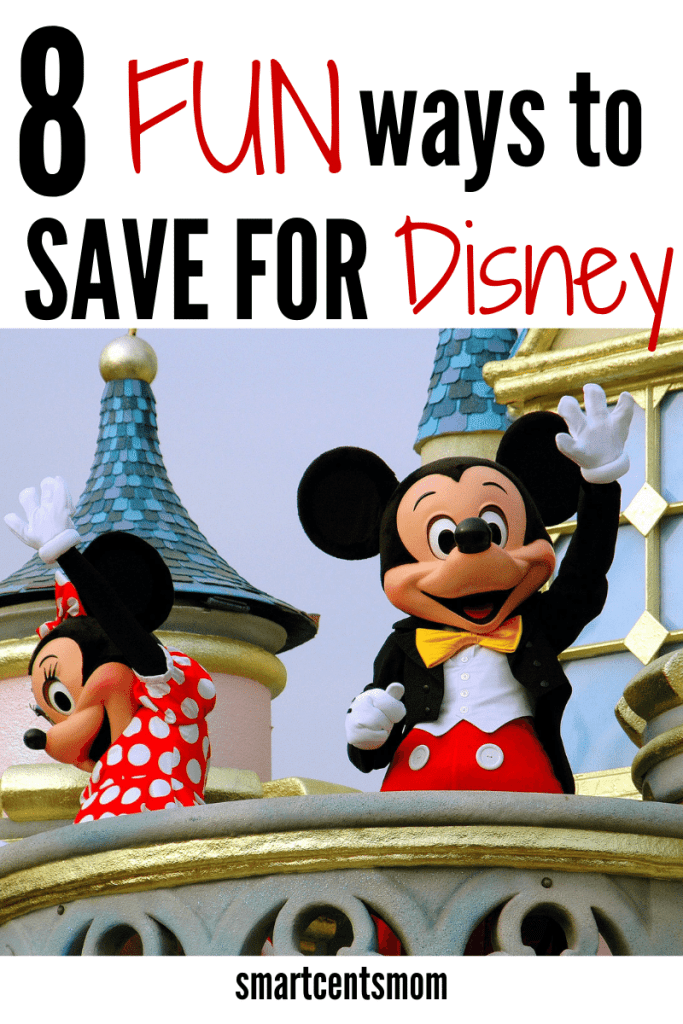 ways to save for Disney on a budget