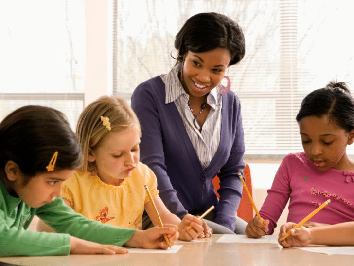 teaching kids during summer