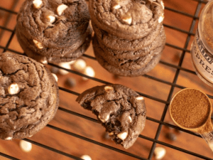Double Espresso Chocolate Cookies for holiday festivals