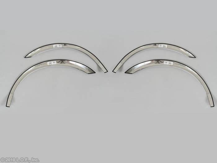 Stainless Steel Chrome Fender Wheel Well Trim Molding 88