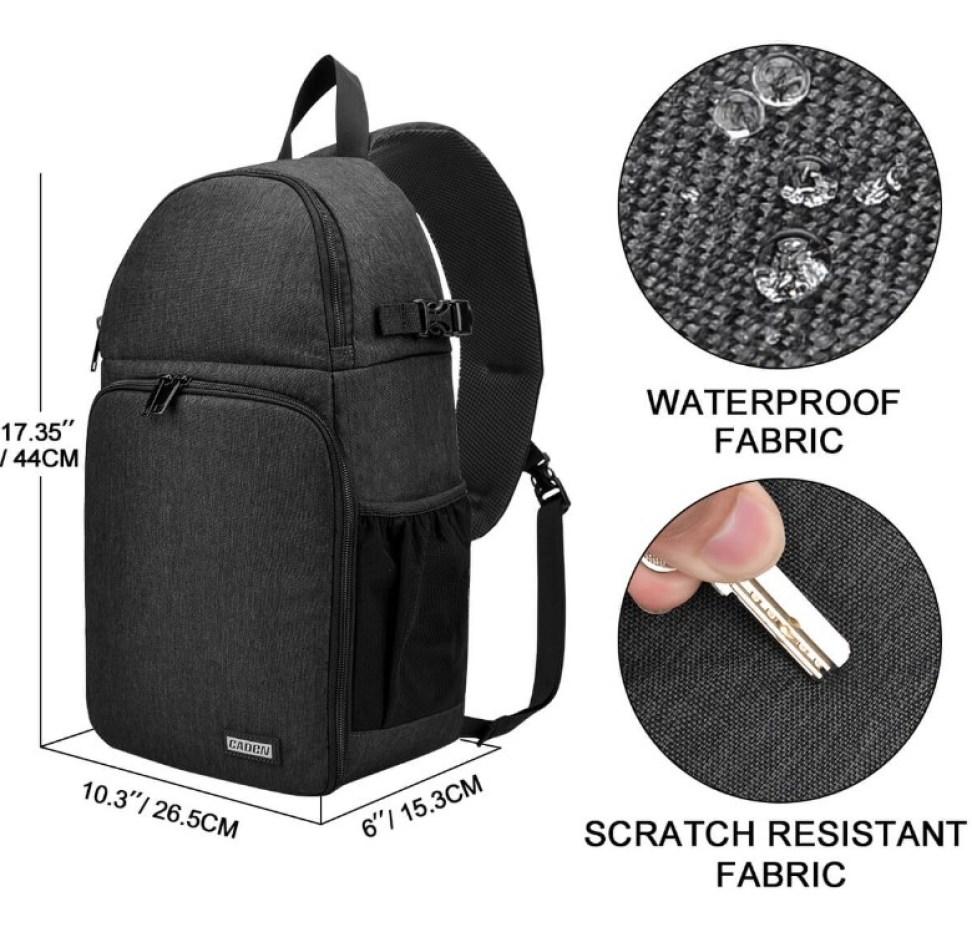 Waterproof DSLR Camera Sling Bag