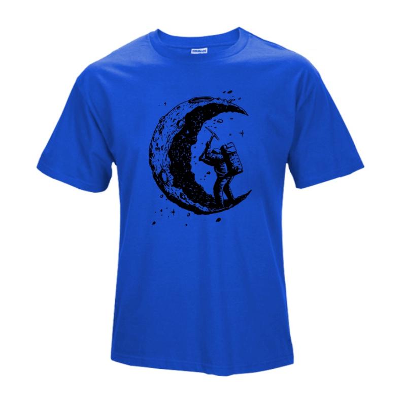 royal blue casual t shirts