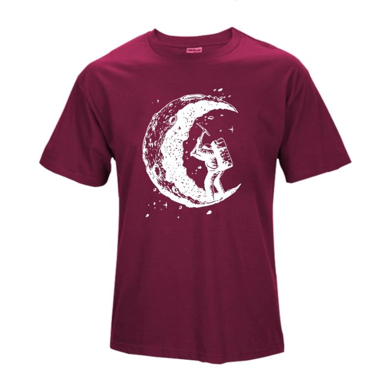 maroon casual t shirts