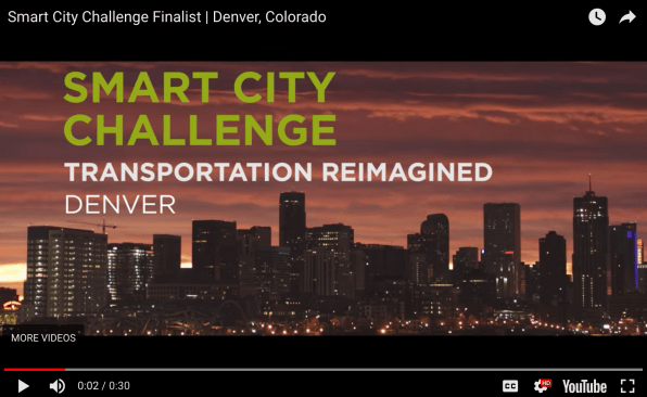 Smart City Challenge Denver Colorado