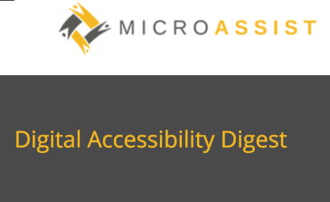 Digital Accessibility Digest Archive