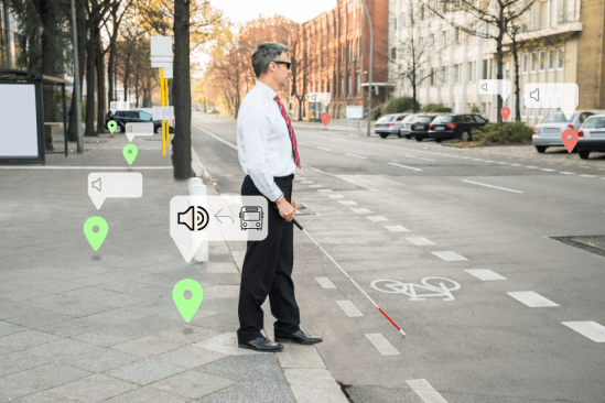 Using Bluetooth iBeacons for making cities more accessible – Safe & Smart City