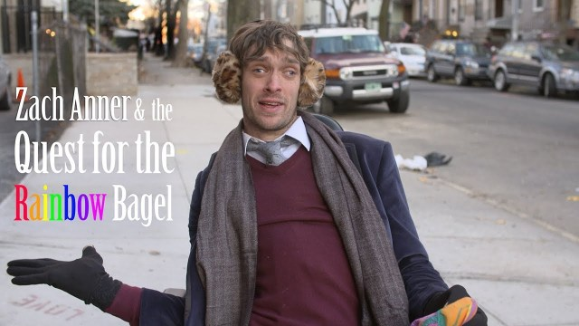 Zach Anner 's Quest For The Rainbow Bagel Shed's Light On Accessibility