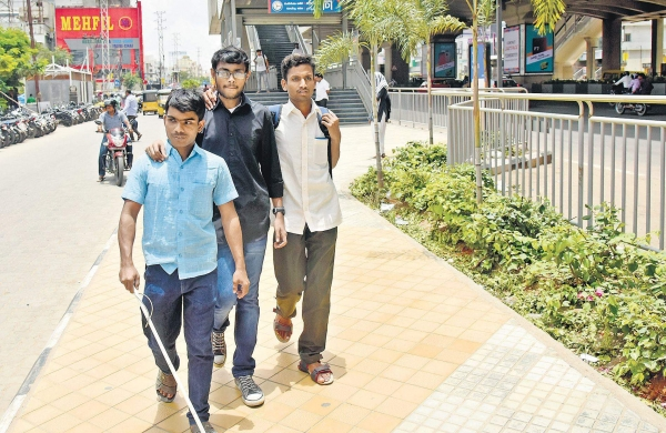How friendly are public places in city for the visually-impaired?- The New Indian Express