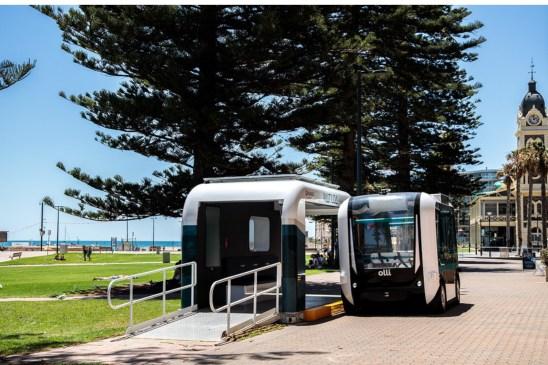 Smart Transport Hub Matilda Can Increase Public Transportation For Disabled