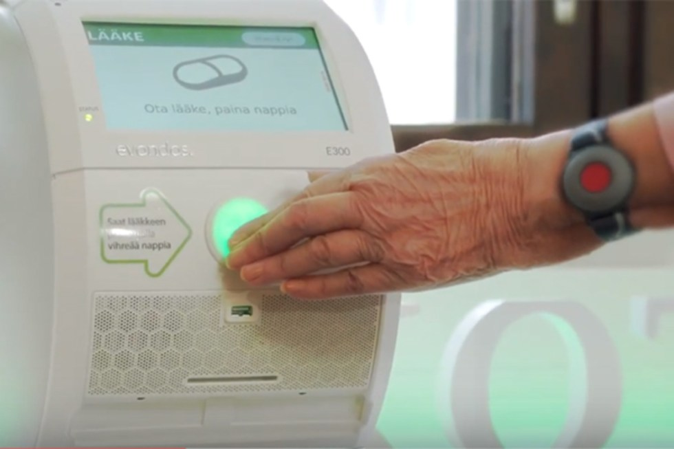 The dispensing robots are designed to help more people live at home independently