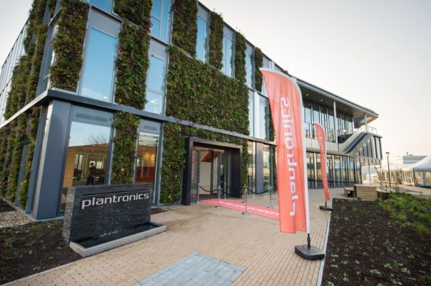 Plantronics building in Hoofddorp, Netherlands, is one of the featured case studies