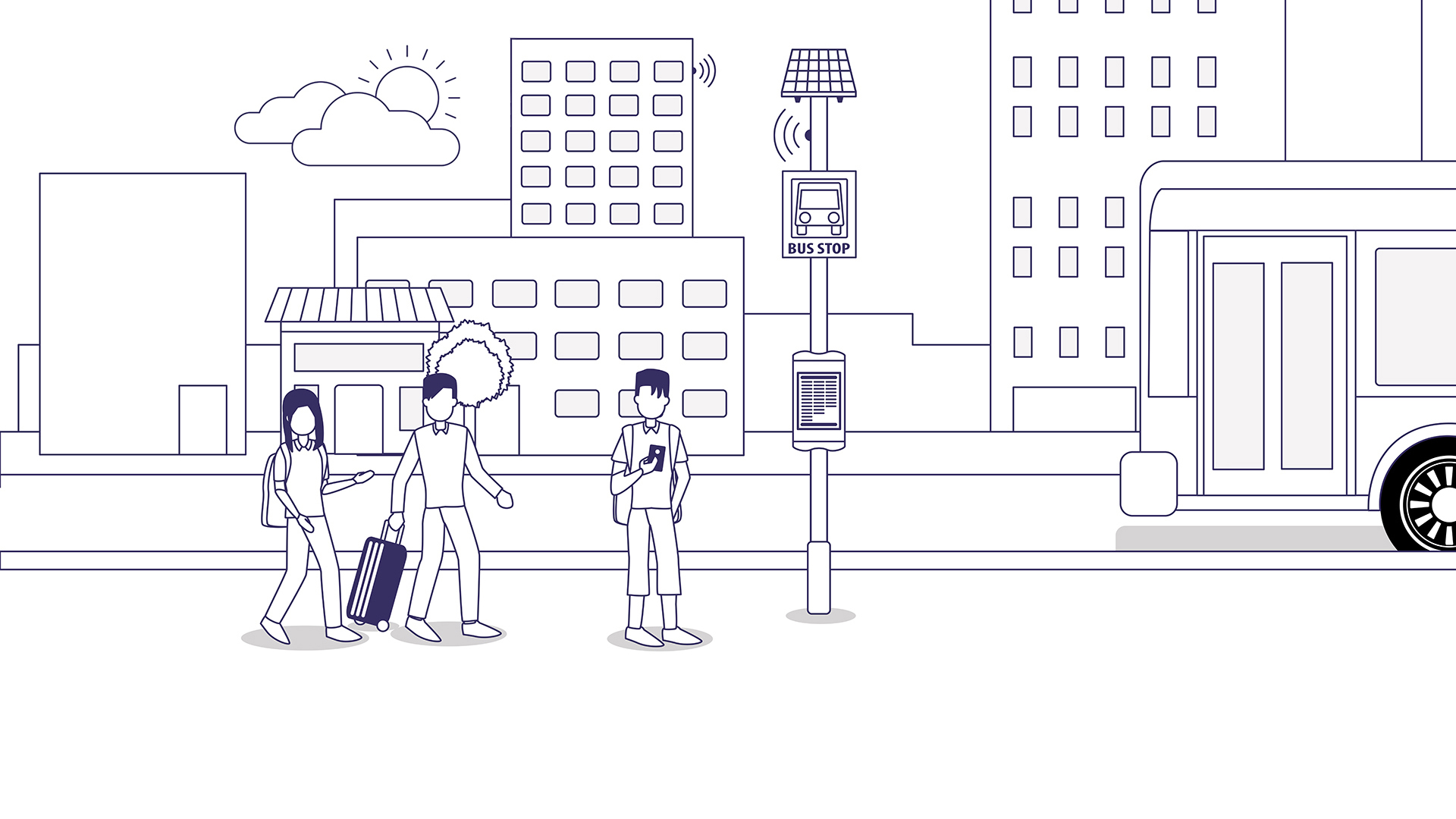 Why You Should Deploy A Gds E Ink Digital Bus Stop
