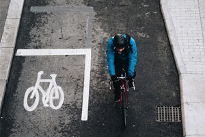 Bordeaux's Safe And Easily Identifiable Bicycle Parking Spots