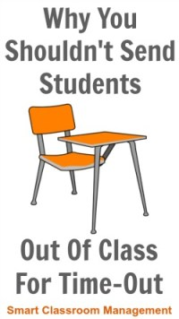 Why You Shouldn't Send Students Out Of Class For Time-Out ...