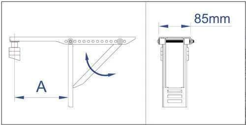 refrigeration parts: Window Air conditioner Brackets