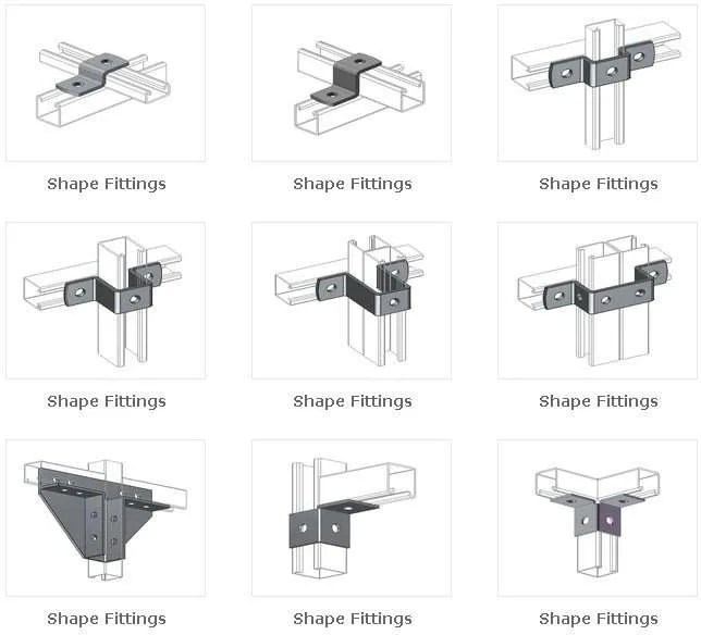 Unistrut Channel Connecting Fittings manufacturer-supplier