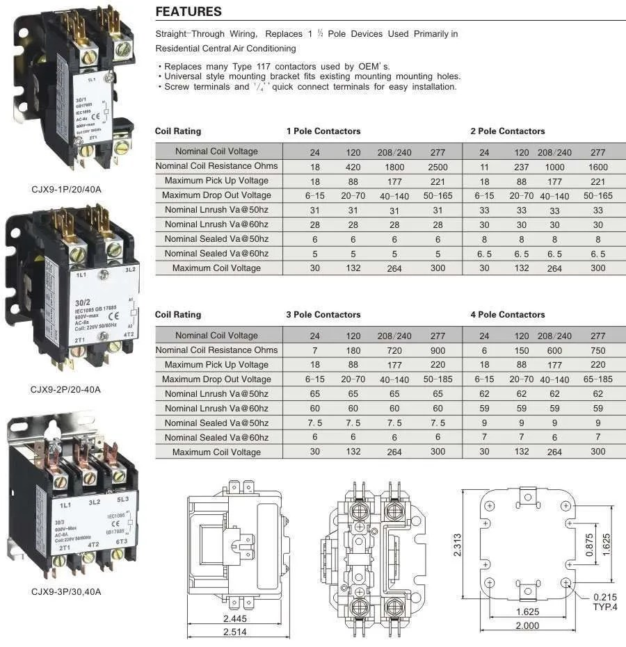 hight resolution of 30 amp ac contactor wiring diagram wiring diagram used ac contactor 30 amp wiring diagram wiring