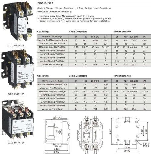 small resolution of 30 amp ac contactor wiring diagram wiring diagram used ac contactor 30 amp wiring diagram wiring