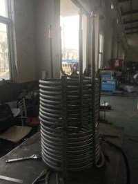 Tube in tube coil heat exchanger,for solar tank,for heat ...